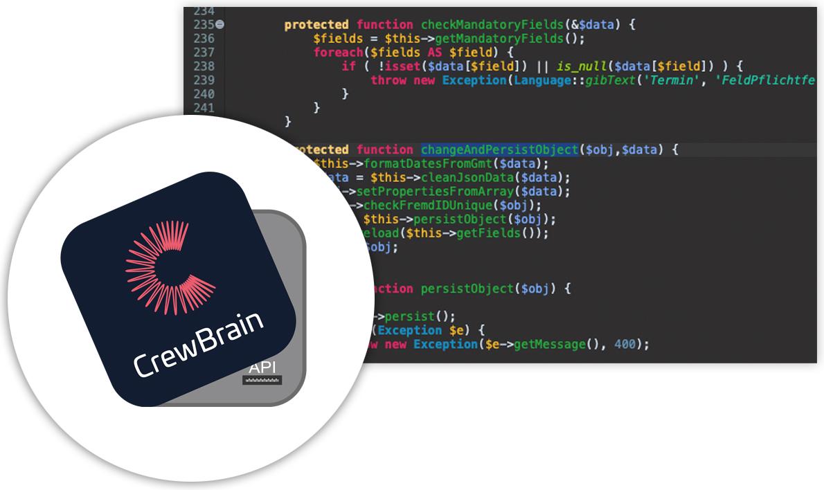 CrewBrain API-Referenz