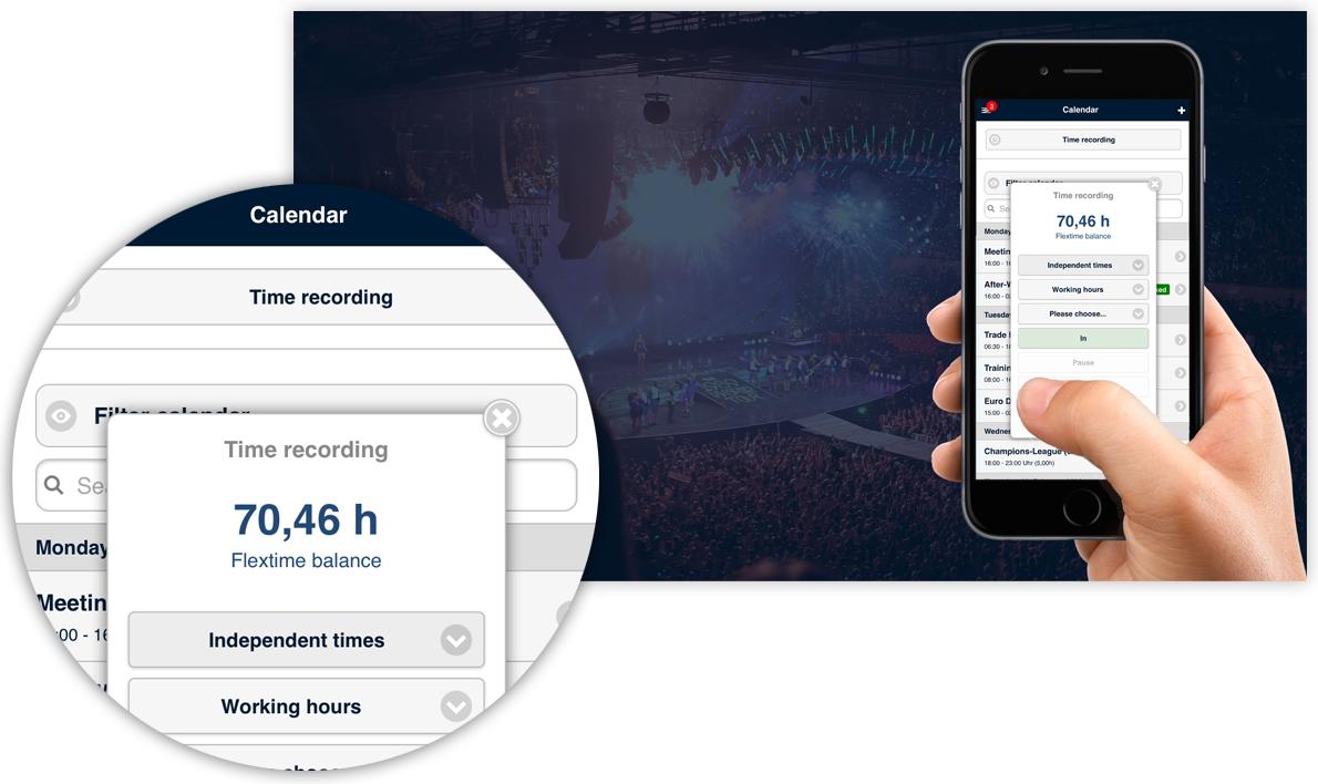 CrewBrain Application Smartphone-Web